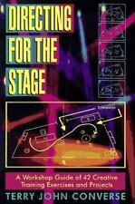 Directing for the Stage: A Workshop Guide of 42 Creative Training-ExLibrary