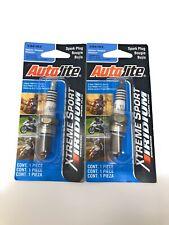 2x Autolite Iridium Extreme Sport Spark Plug  #XS4163 Brand New