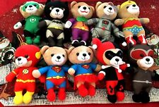 AUSTRALIAN RELEASE METRO PETROLEUM JUSTICE LEAGUE PLUSH TOYS COMPLETE SET of 10