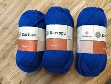 Kartopu Tempo Prints 25%Wool 75%Acrylics 3x200g Balls K530 Blue Super Chunky
