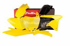 SUZUKI Plastic Kit RMZ 450 2008 - 2017 OEM Yellow Motocross Polisport 90627 RM-Z