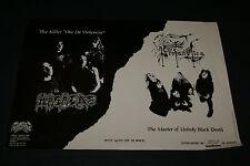 PROFANTATICA & MASACRE OSMOSE VINTAGE 1993 ADD FOR SPLIT CD RARE HARD TO FIND
