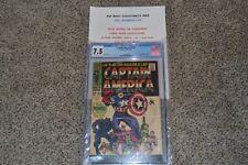 Marvel Comics, Captain America #100, CGC 7.5, 1st Cap series, Great Book Rising