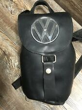 Little Earth Recycled Rubber Heavy duty Volkswagen large emblem backpack Worn