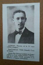 2132 / ANGLEUR 31-3-1894 / 2-10-1918 MOORSLEDE / HOOGSTADE / LEDENT MAURICE