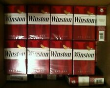 20 Winston Reds Used Empty Cigarette Boxes Packs Tobacco Use for Arts & Crafts
