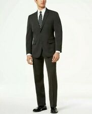 Mens Nautica Modern Fit Active Stretch Suit 40R / 34W Jacket Pants Gray Nwt