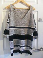 ladies f&f off the shoulder jumper,size uk 10,everyday wear/winter wear