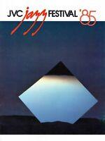 JVC JAZZ FESTIVAL 1985 TOUR CONCERT PROGRAM BOOK-GRUSIN-RITTENOUR-JORDAN-CLARKE