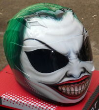 The Joker Batman Helmet Airbrush Costum Made Dark Knight Super Villain Clown