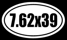 7.62X39 Vinyl Decal Sticker Car Window Wall Bumper Gun AK-47 Ammo Assault Rifle