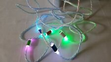 New LED changing light USB data sync charging replacement cables for Iphone