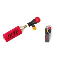 Fahrrad-Mini-Pumpe CO2, incl.16g Patrone, passt für FV,AV und DV, Kälteschutz