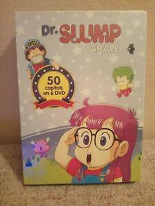 Pack 6 Dvd: Dr. Slump Arale. PRECINTADO