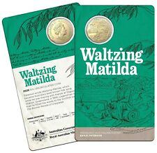 Australia - 2020 Banjo Paterson - Waltzing Matilda 50cent coin on card
