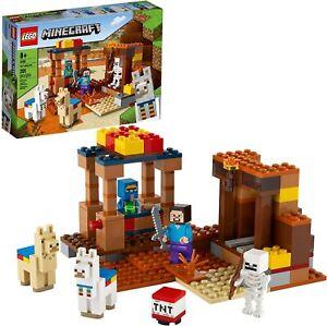 LEGO Minecraft The Trading Post 21167 Building Kit Playset 201pcs Jan.1,2021