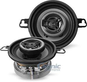 "2) CRUNCH CS35CX 3.5-INCH 3-1/2"" 2-WAY CAR AUDIO POWER COAXIAL SPEAKERS (PAIR)"