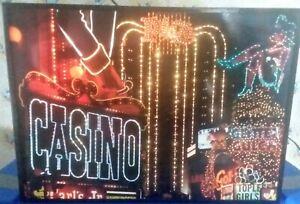 Fiber Optic Las Vegas Light Box~Plaza Golden Goose Fremont Street~Rare! HTF~