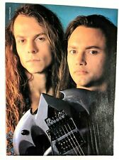 Queensryche / Motley Crue / Chris Degarmo / Magazine Full Page Poster Clipping