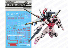 D.L high quality Decal water paste For Bandai MG RM MBF-02 Strike Rouge Gundam