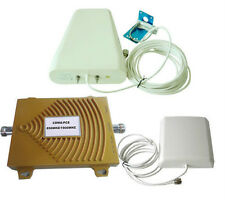 Dual Band Booster 850/1900MHz Phone Signal Repeater GSM CDMA 3G Amplifier +Cable