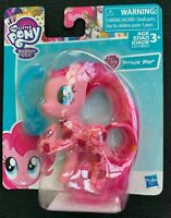 "My Little Pony Friendship is Magic Pinkie Pie Glitter Design 3"" Figure with Comb"