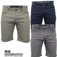 Crosshatch Boys Teenager New Fastrack Designer Cargo Summer Chino Shorts BNWT