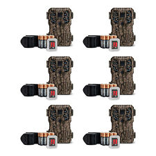 Stealth Cam 8MP Infrared Hunting Scouting Game Trail Camera w/ SD Card (6 Pack)