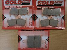 FRONT & REAR BRAKE PADS > SUZUKI GSX 1400 (2001-2007) GSX1400 ./ FA188HH FA254HH