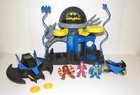 Fisher Price Imaginext Batman 6 Pc Lot DC Super Friends Batcave Batwing Joker
