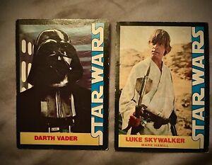 1977 Luke Skywalker & Death Vader ~ Wonder Bread