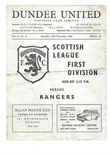 More details for 61/62 dundee united v rangers