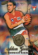 Select Footy 2000  Adam Goodes Sydney Swans MC6 1999 Norich Rising Star