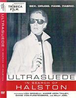 Ultrasuede In Search of Halston (DVD,2010)Liza Minnelli, Furstenberg, Billy Joel