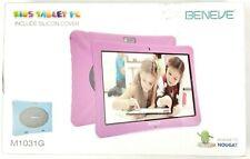 Beneve Kids Tablet M1031G Andriod 7.0 10.1'' Quad Core 1.3Ghz 2GB RAM 32GB ROM