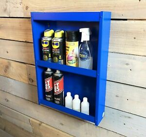 Storage Shelving Cabinet Unit DIY Garden Heavy Duty Wall Mounted Tools Racking
