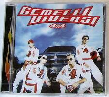 GEMELLI DIVERSI - 4x4 - CD Sigillato