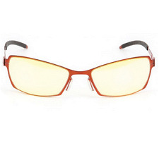 Gunnar Optiks SYN-05601 Sync Computer/Gaming Glasses - Fire Rims & Amber Lens