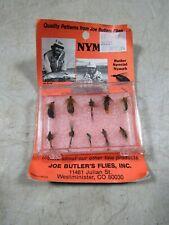 Vintage Joe Butler's Flies Nymphs 10 Pack Nos Mib Moc Butler Fly Fishing