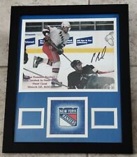PAVEL BURE AUTHENTIC Signed Autographed RANGERS NHL FRAMED 11X14 PHOTO JSA PSA