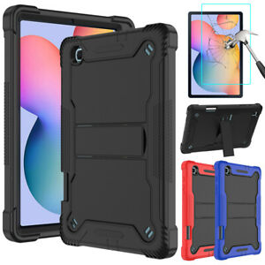 For Samsung Galaxy Tab S6 Lite 10.4 in Tablet Case Stand Cover+Screen Protector