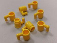 Bulk Lot Lego Part No.3899: Yellow Minifigure, Utensil Cup , Qty x 8