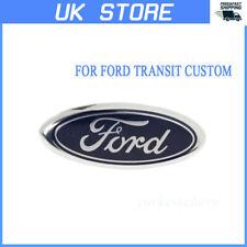 1X Front Rear Bonnet Boot Badge Emblem For Ford Transit Custom