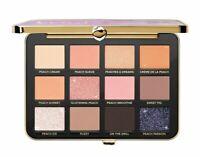 100% AUTH!! Too Faced Peaches & Cream White Peach Eyeshadow Palette! FREE SHIP!