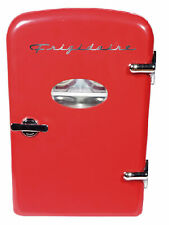 New Listing Portable 6 can Mini Compact Fridge Chill Kitchen Freezer Appliance Cooler Red