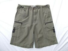 Structure Utility Supply lightweight nylon 10in shorts L drawstring button MINT