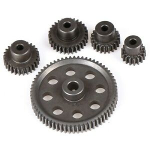 Hardened Steel Spur Gear 64T Pinion 26T for 1/10 Tamiya HSP Redcat Racing