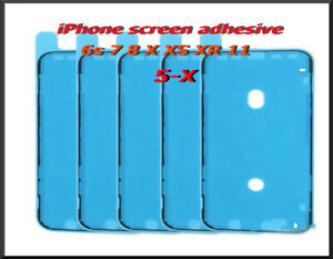 iPhone screen adhesive gasket water seal  6S 7 8 X XS- XR 11