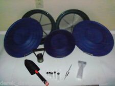 Blue Deluxe Gold Classifier & Gold Pan Panning Kit