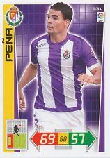 N°331 CARLOS PENA # ESPANA REAL VALLADOLID CARD PANINI ADRENALYN LIGA 2013